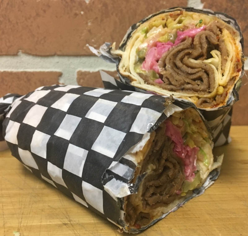Beef Donair Wrap Dinner Kit Image