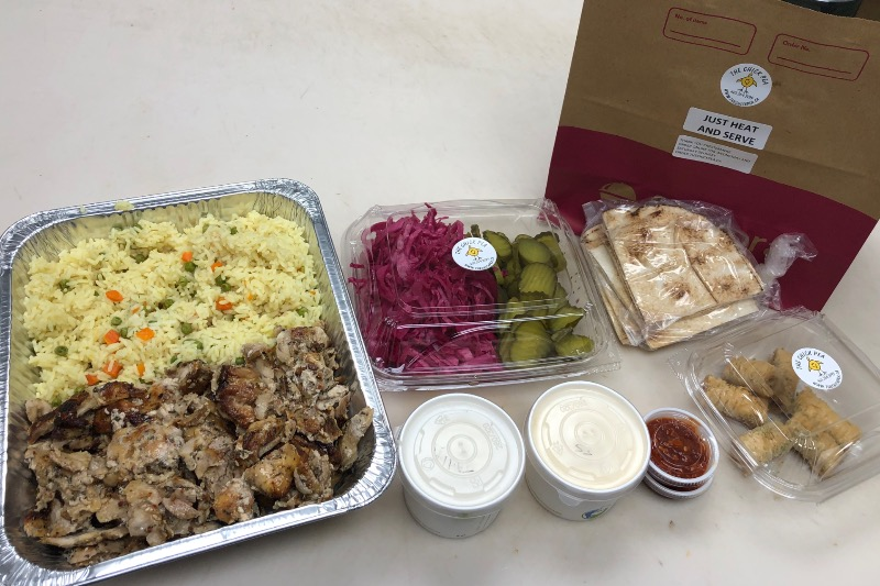 Chicken Shawarma Rice Dinner Kit