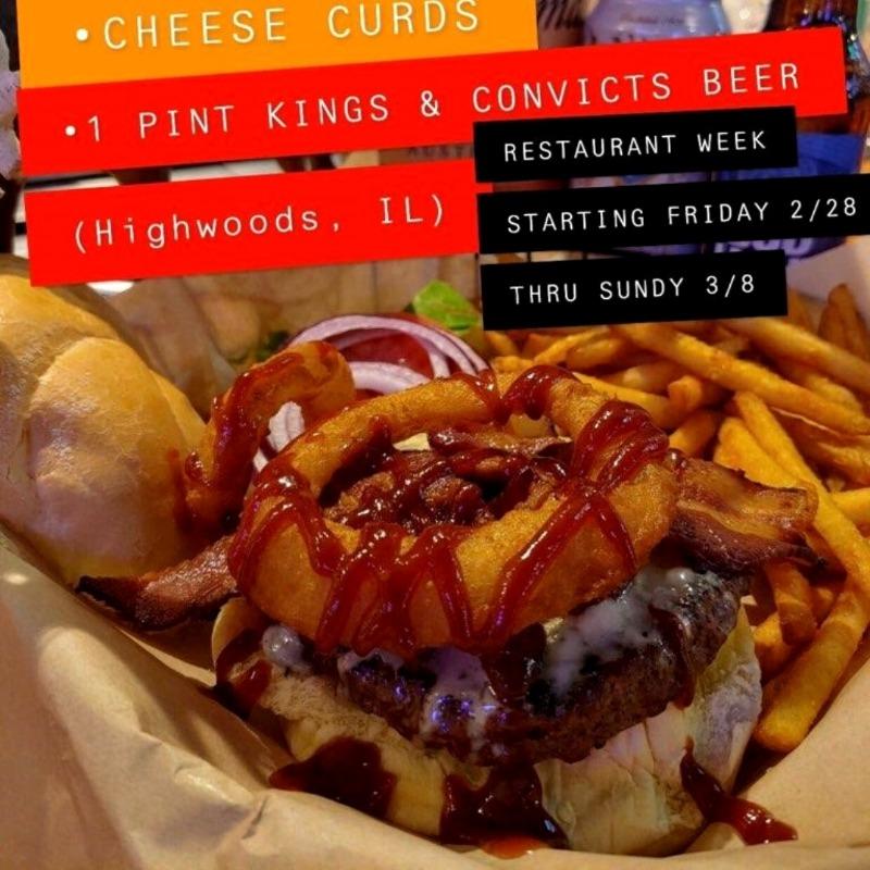 The Chain O' Lakes Burger Image