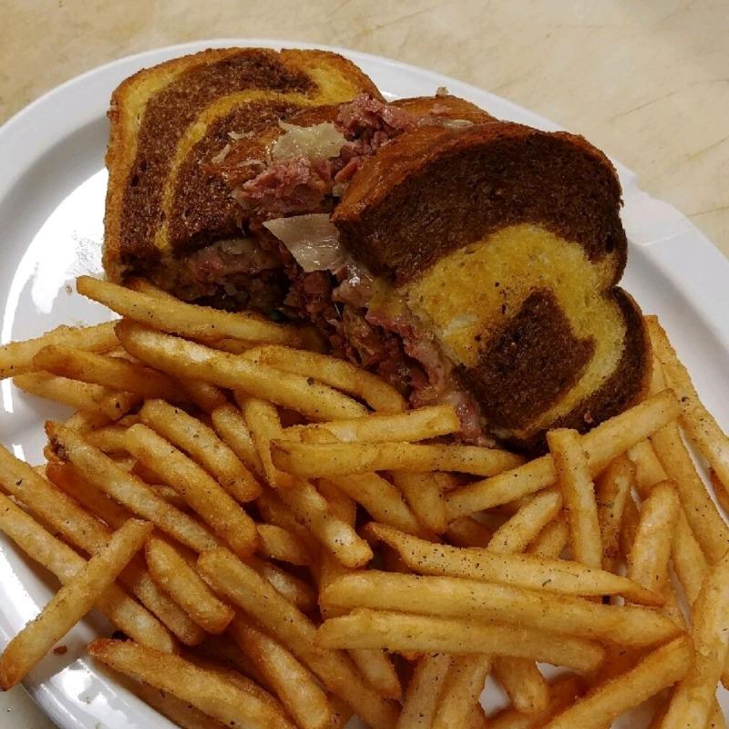 The Moose's Signature Reuben Sandwich