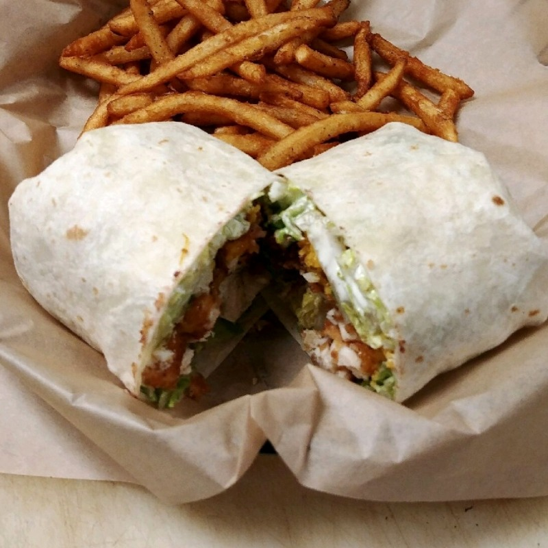 Buffalo Chicken Wrap Image
