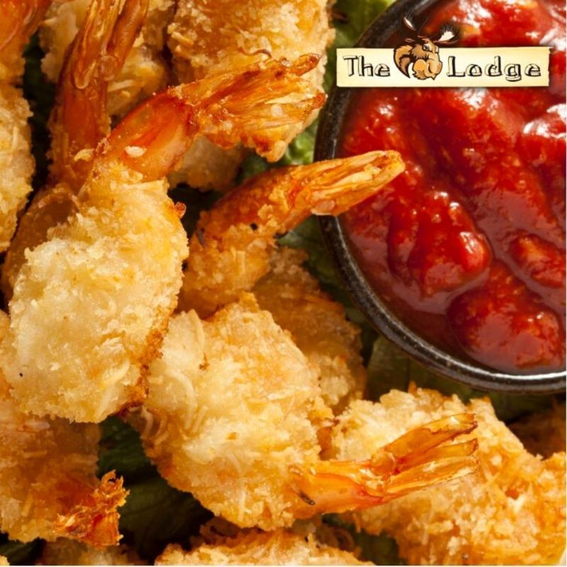 Golden Fried Shrimp Basket