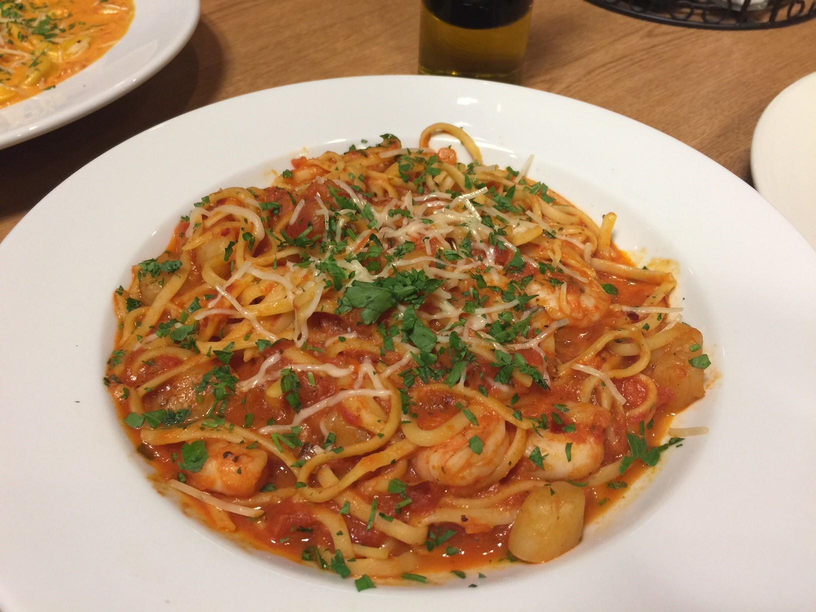 Seafood Arrabiata Image