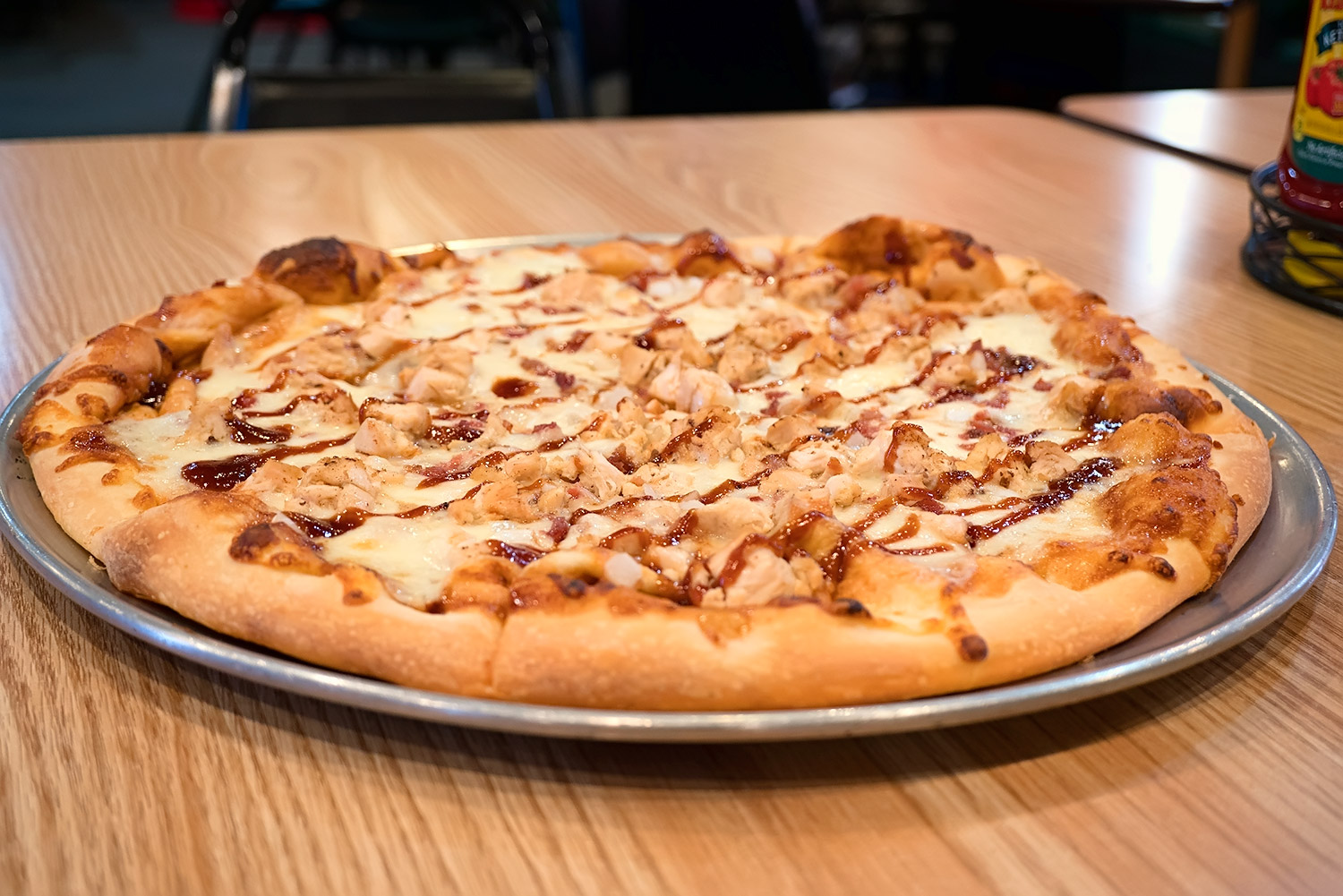 Barbeque Chicken Pizza Image