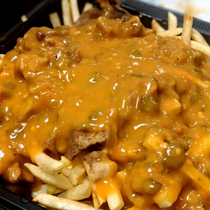 SMOTHERED FRIES (SMALL)