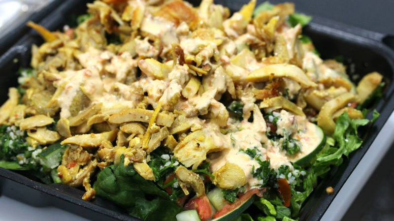 CHICKEN SHAWARMA SALAD Image