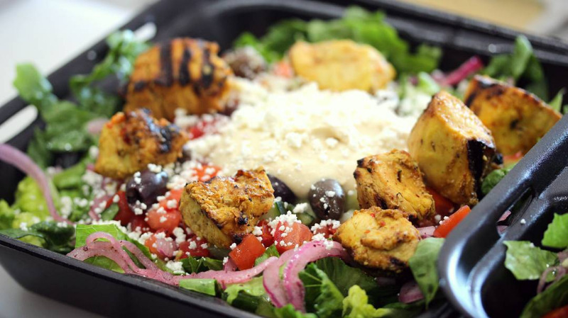 CHICKEN KABOB SALAD Image