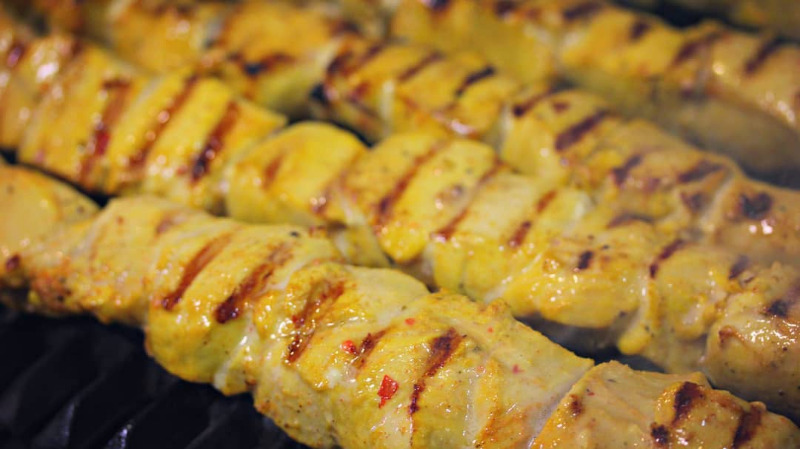 CHICKEN KABOB SANDWICH Image
