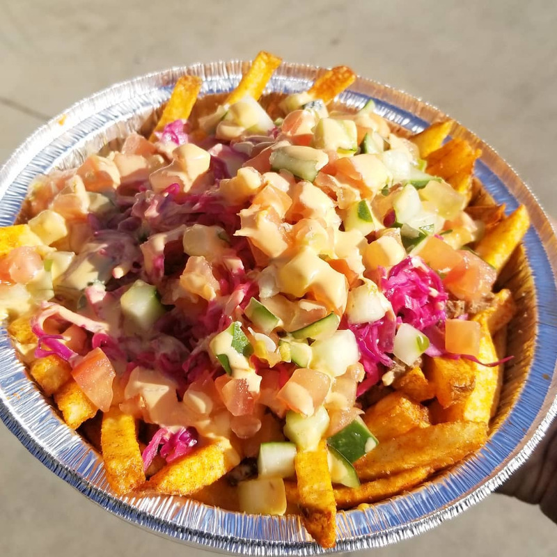 SHAWARMA FRIES - CHICKEN SHAWARMA BOWL Image