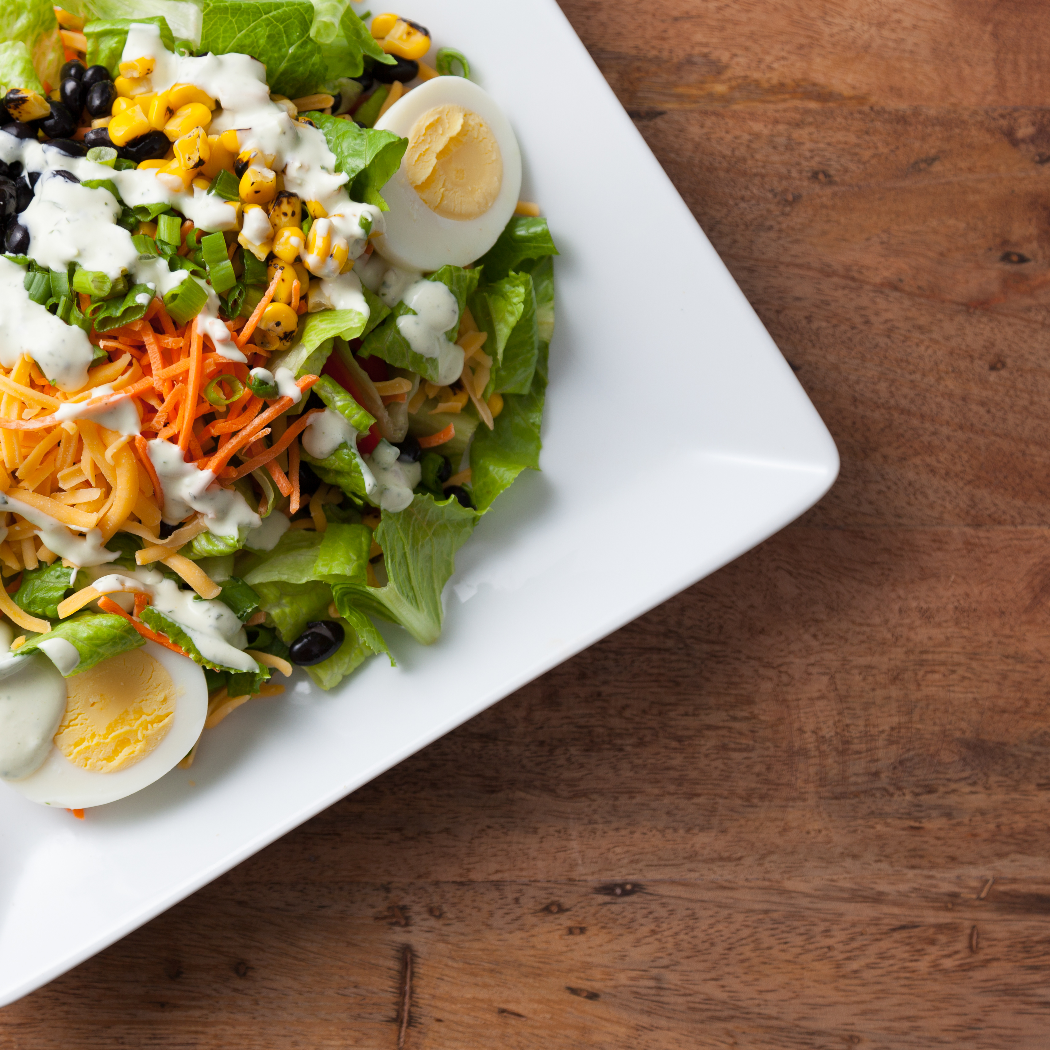 Individual Chef Salad Box Image