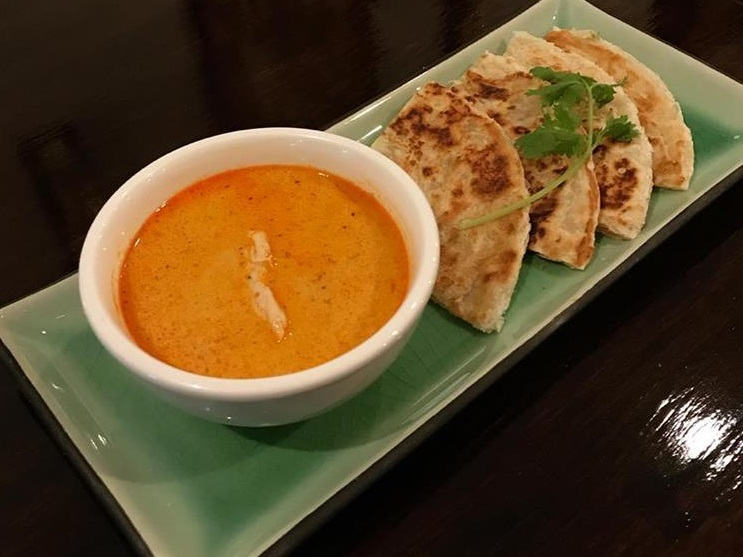 A9. Roti with Massaman Curry Image