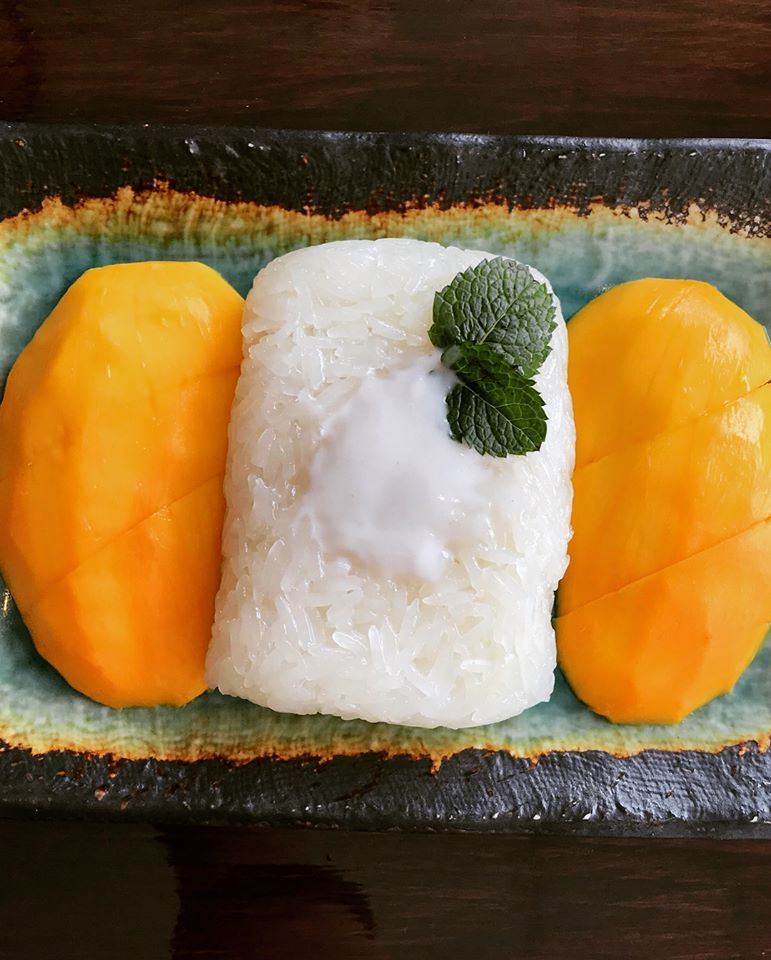 Mango W/ Sweet Sticky Rice (Seasonal) Image