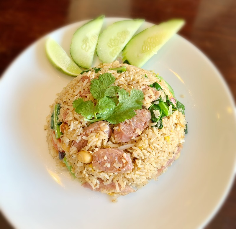 Sour Pork Sausage Fried Rice Image