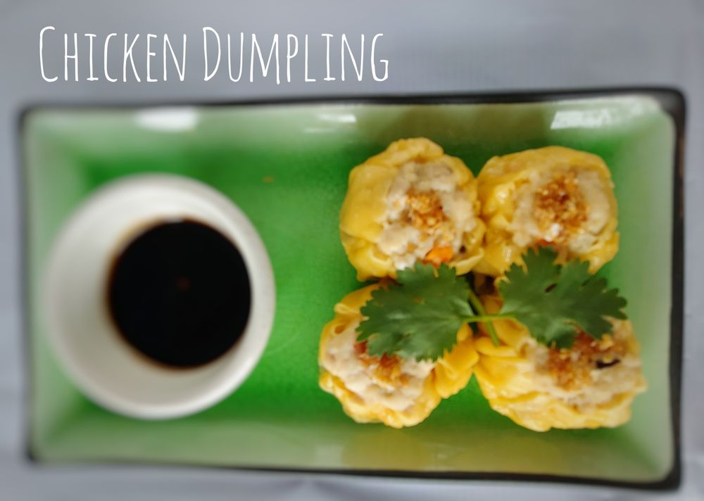 A8. Chicken Dumpling (4 Pcs)
