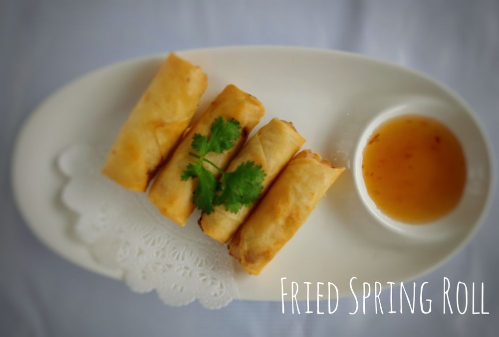 A1. Fried Spring Roll (4 Pcs)