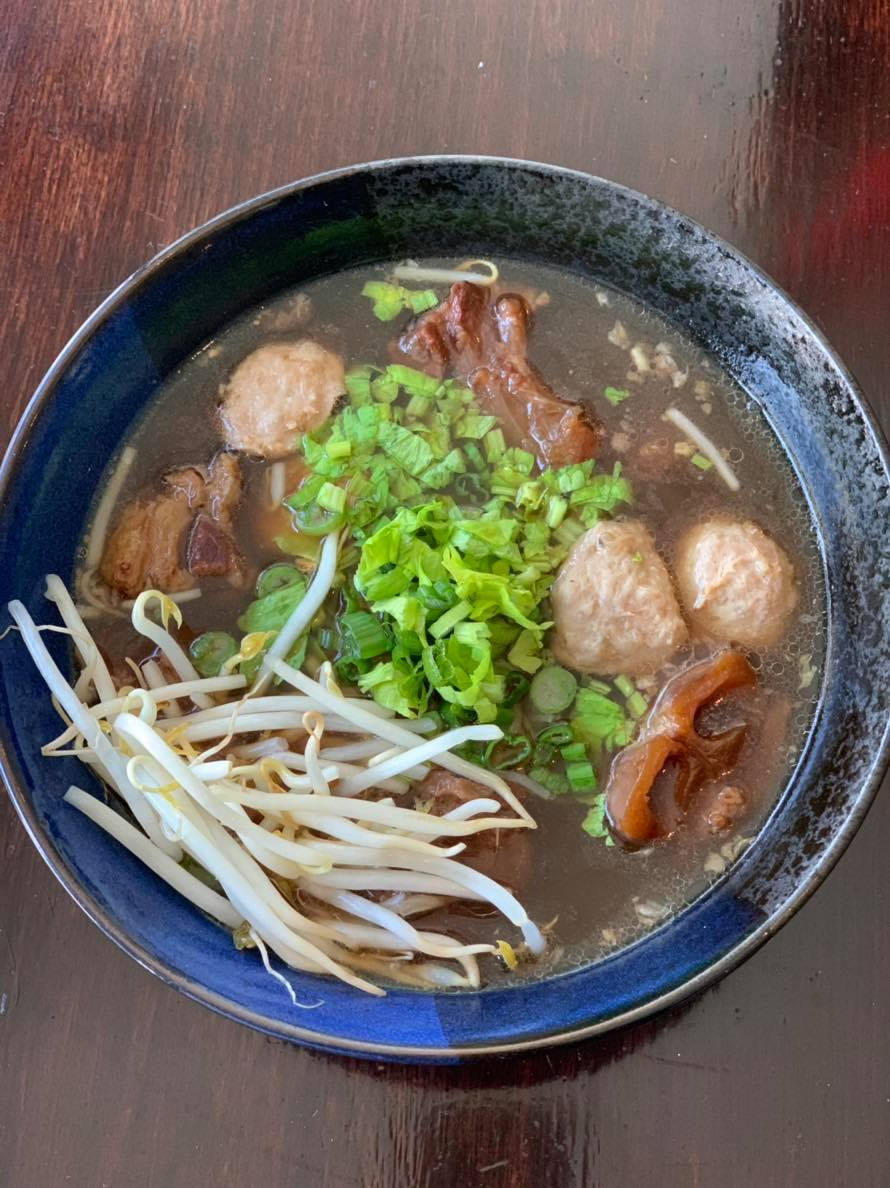 Beef Stewed Noodle Soup Image