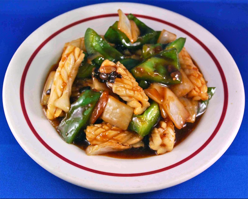 Fresh Squid w. Black Bean Image
