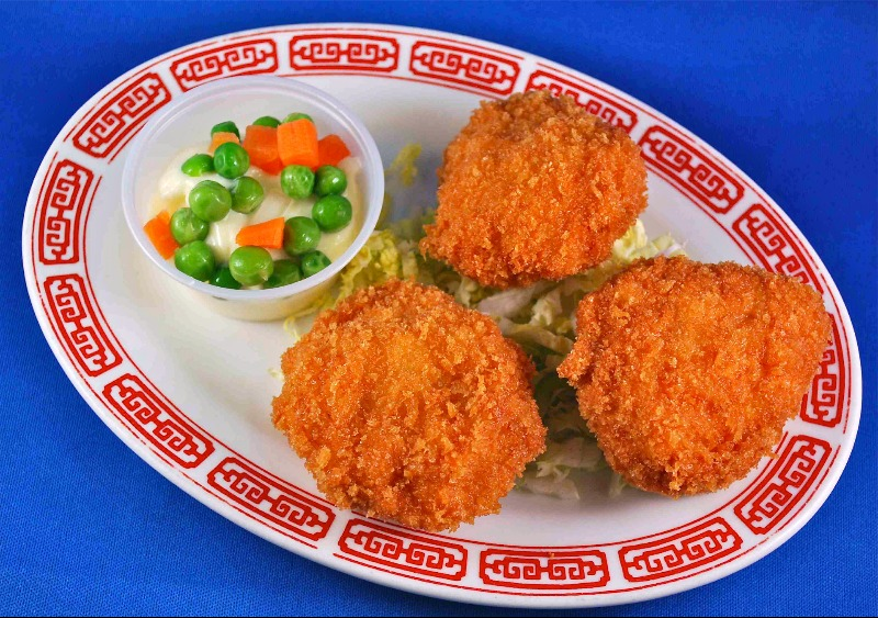 炸帶子Minced Scallop Cutlet