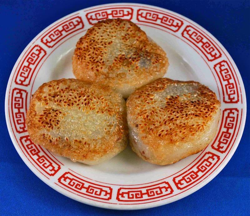 紅豆餅Smashed Red Bean Pancake