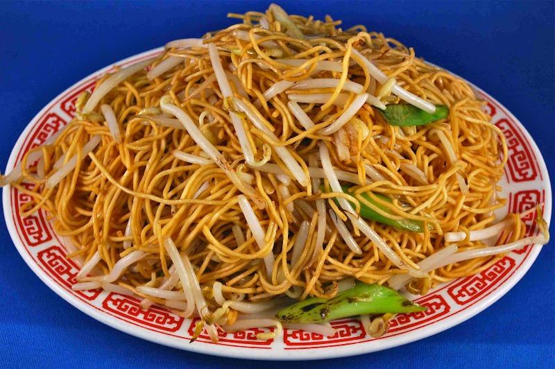 Soy Sauce Stir-Fry Noodles丝油炒麵 Image