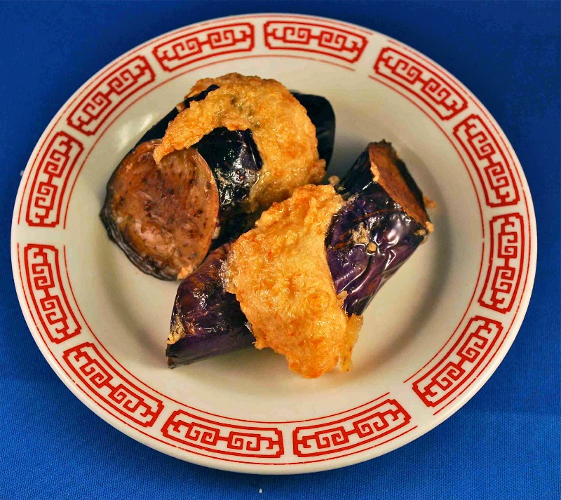 釀茄子Stuffed Eggplant