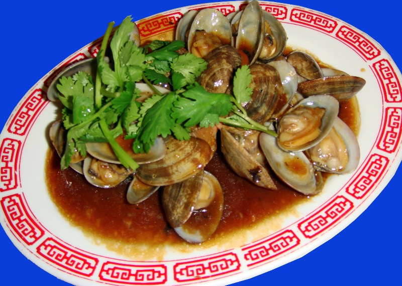 炒蜆Clams w. Black Bean Sauce