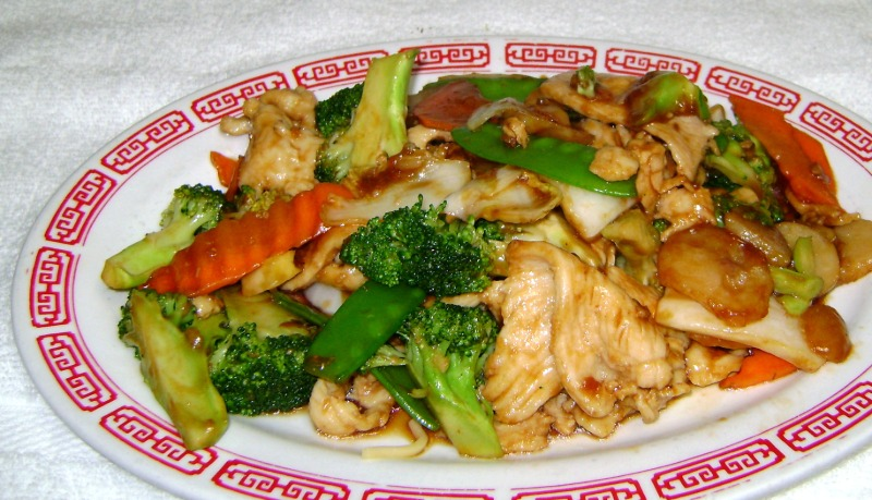 Chicken with Mixed Vegetables Image