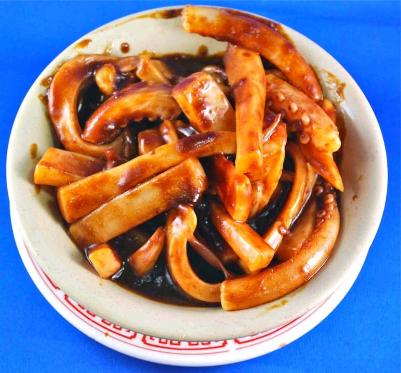 sate squid沙爹魷魚