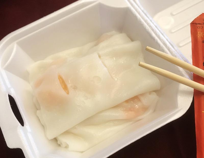 蝦腸粉Shrimp Rice Paste