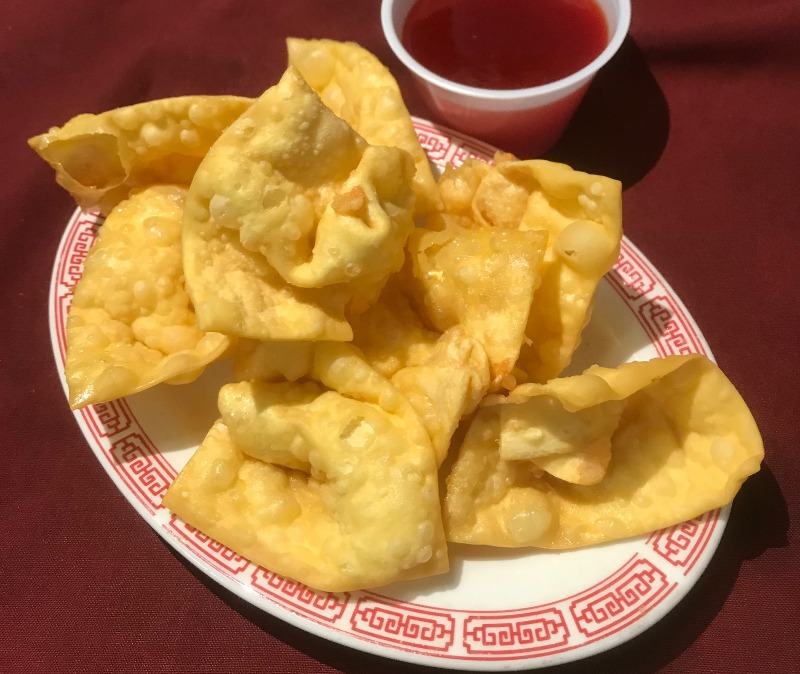 炸云吞Fried Wontons (8) Image