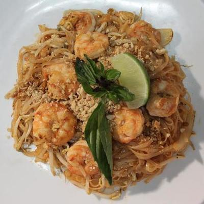 Pad Thai Shrimp. Image