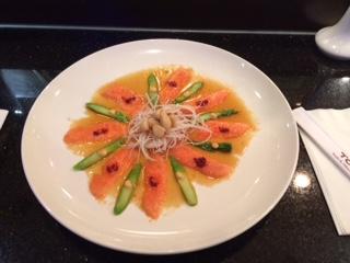 Garlic King Salmon Appetizer Image