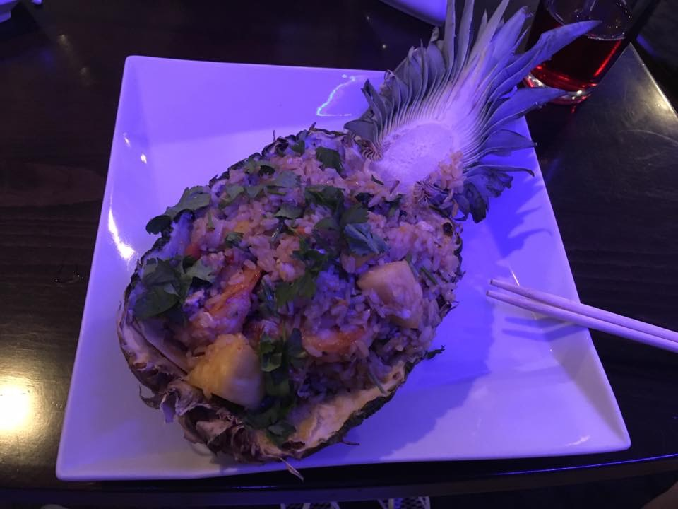Pineapple Shrimp Fried Rice