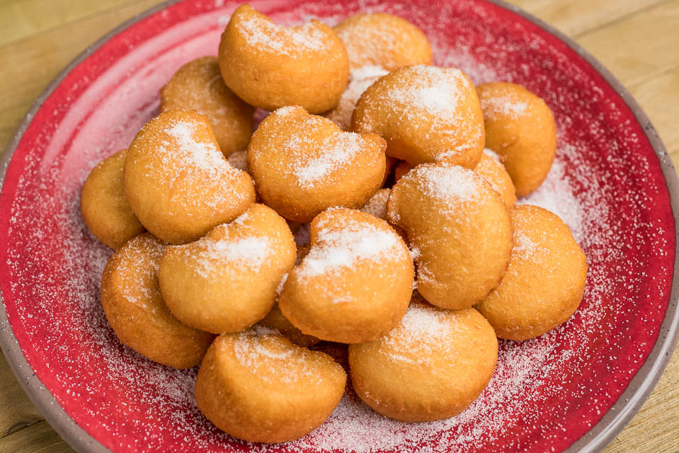 6. Chinese Donuts