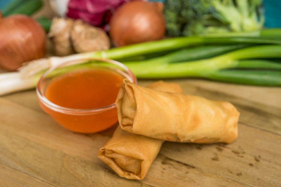 3. Vegetable Spring Rolls (2) Image