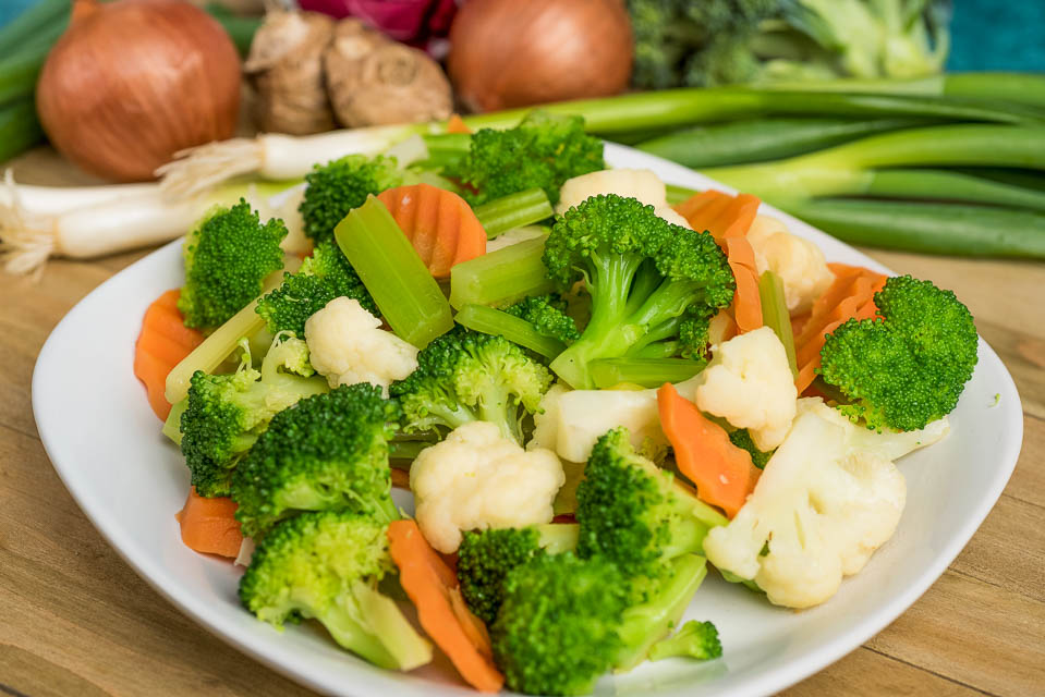 5. Steamed Vegetables Image