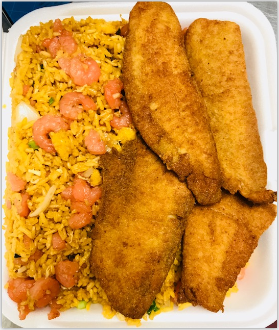 L1. Fried Fish (4pcs)