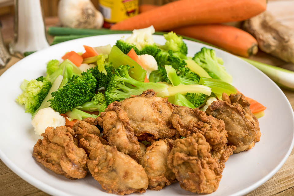H4. 12 Fried Oysters Image