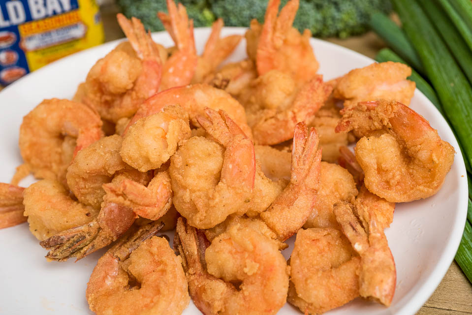 21. Fried Medium Shrimps (24) Image