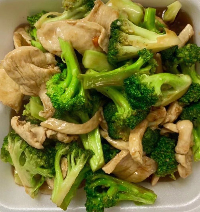 V1. Chicken and Broccoli Image