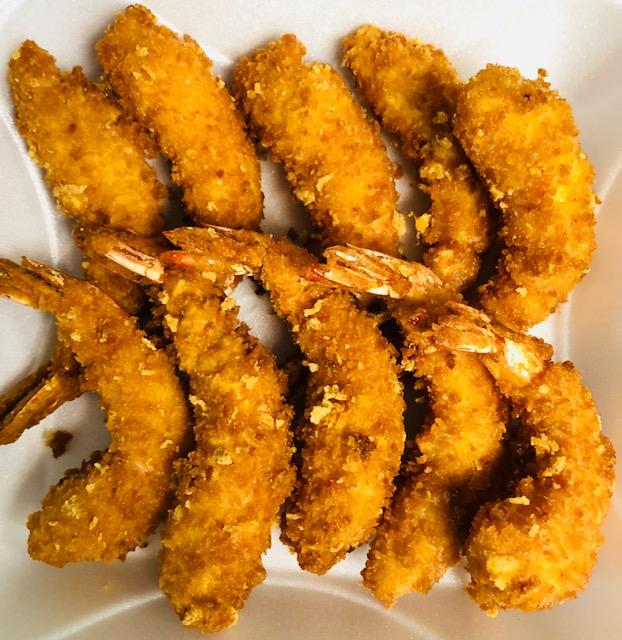 H11. Fried Crispy Jumbo Shrimp (10) Image