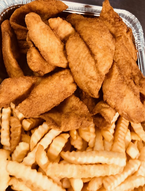 P12. Fried Fillet Fish (2 lbs) with French Fries Image