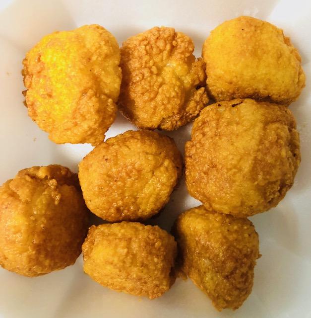 22B. Fried Scallop (8pcs)