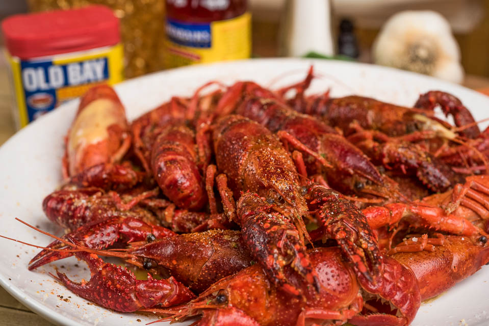 B8. Boiled Crawfish