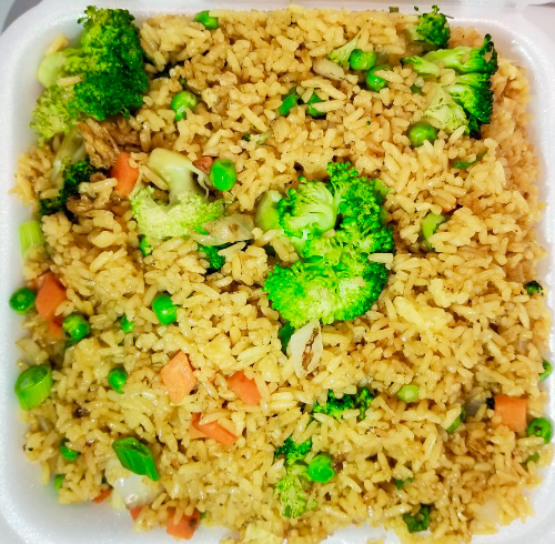 23. Vegetable Fried Rice