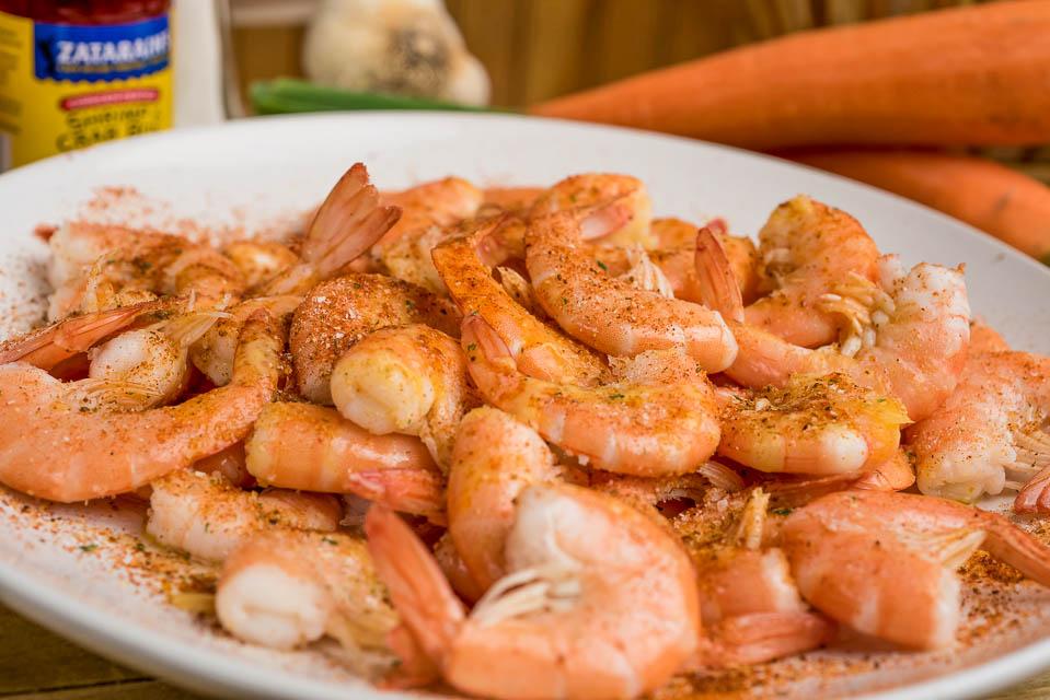 B1. Boiled Shell-On Large Shrimps Image