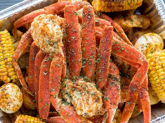 TS Snow Crab Platter Image