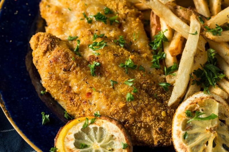 Southern Fried Fish Basket Image