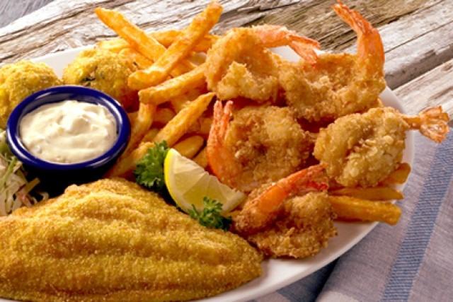 Fish and Shrimp Combo Image