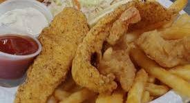 Kid's Fish and Shrimp Combo